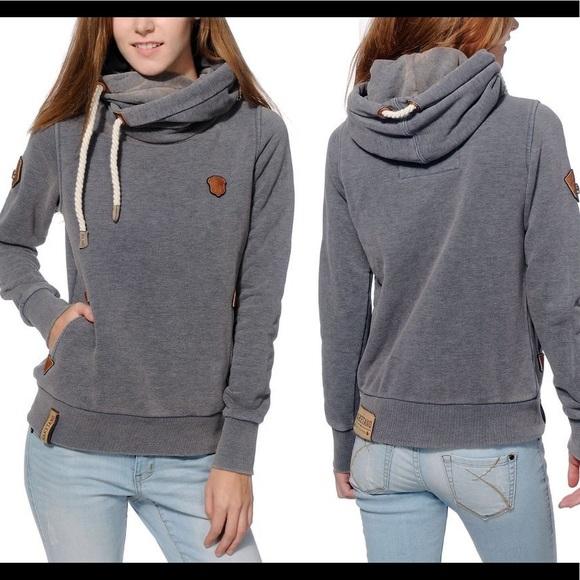 Naketano Darth VII W hoodie pink heather